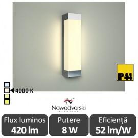 Poze Nowodvorski FRASER LED 8W IP44 alb-neutru