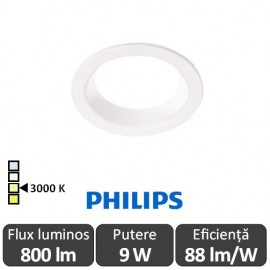 Poze Philips Ledinaire DN060B LED8S/830 800lm PSU WH