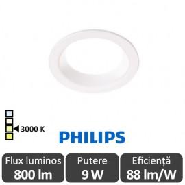 Philips Ledinaire DN060B LED8S/830 800lm PSU WH