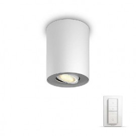Poze Philips - Spot aplicat HUE Pillar Alb 1x5.5W  LED