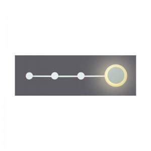 CORP ILUMINAT ACA LIGHTING PN11LEDW50WH APLICA CUIER DE PERETE ALB LED
