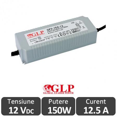 Sursa GLP 150W 12V IP67
