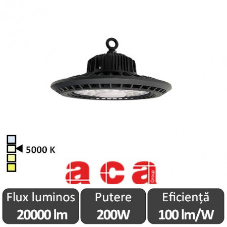Aca Lighting-Aparat iluminat cu LED AXEL Highbay 200W