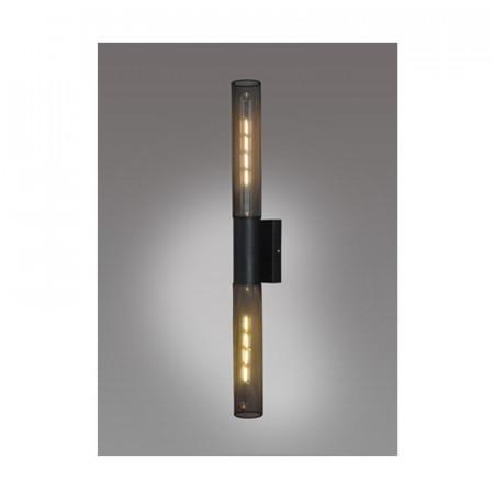 APLICA ACA LIGHTING OD602P72BK METAL NEGRU E27