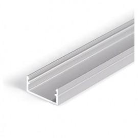 Profil LED aparent BEGTON 12, aluminiu anodizat, lungime 1m