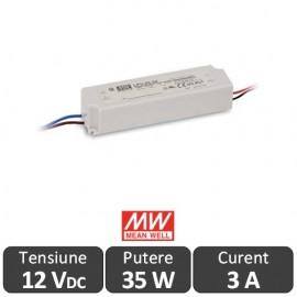 Sursa alimentare LED 35W 12V IP67