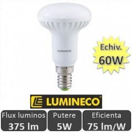 """Bec cu LED """"NEXT"""" R50 5W 375lm E14 alb-cald"""