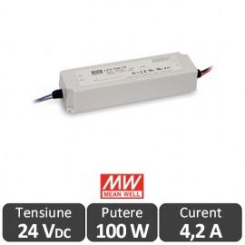 Sursa alimentare LED 100W 24V IP67