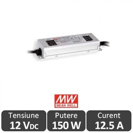 Sursa alimentare LED 150W 12V 12.5A IP67