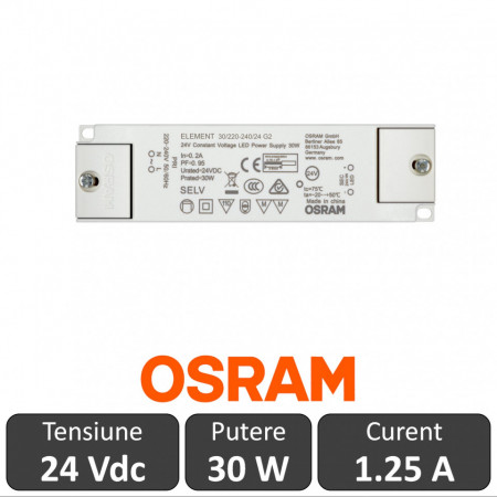 Sursa Osram Element 30W 24V IP20