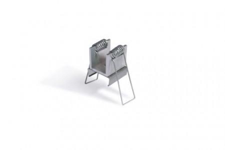 Element prindere profil LED placa gips-carton Linea-In set 2 buc