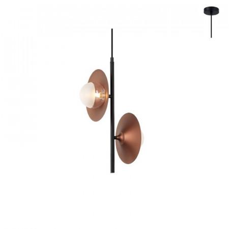 CORP ILUMINAT ACA LIGHTING HL4302P27BC STICLA, METAL, CUPRU, G9