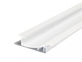 Poze Profil LED încastrat FLAT 8, alb, lungime 2m