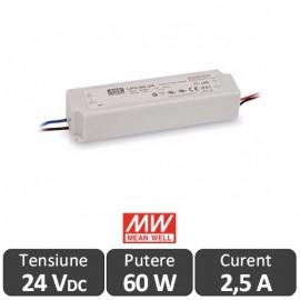 Sursa alimentare LED 60W 24V IP67