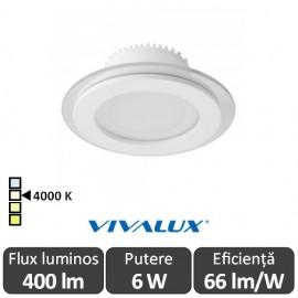 Vivalux VETRI LED 6W 4000K ( Alb-Neutru )