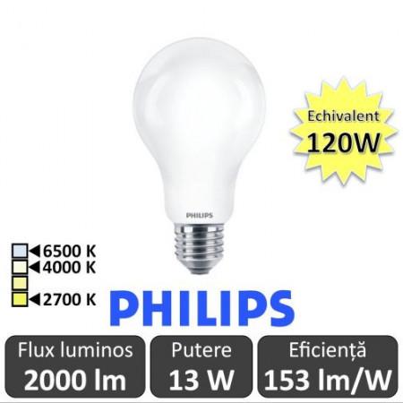Bec led Philips 13-120W