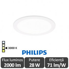 Poze Philips CoreLine SlimDownlight DN135B LED20S/830