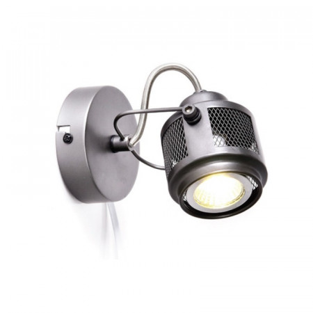 CORP ILUMINAT ACA LIGHTING AR2091W16G METAL GRI GU10