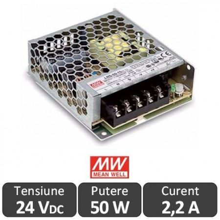 Sursa alimentare LED 50W 24V 2,2A