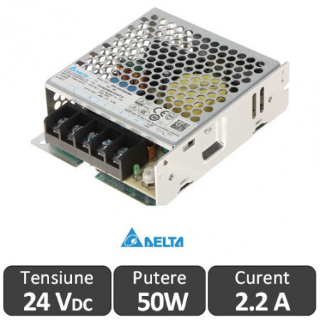 Sursa alimentare Delta 50W 24V IP20
