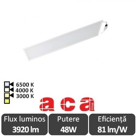 Aca Light Panou Led 48W Incastrabil 30x120