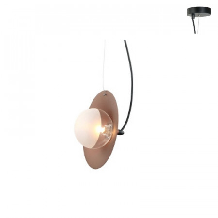 CORP ILUMINAT ACA LIGHTING HL4301P23BC STICLA, METAL, CUPRU, G9