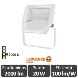 Osram Ledvance - Proiector LED de Exterior 20W IP65 3000K Alb-Cald WT