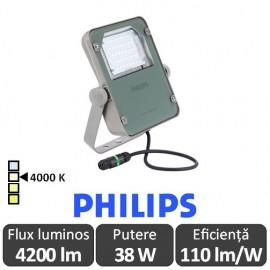 Philips-Proiector LED BVP110 40W simetric,alb-neutru