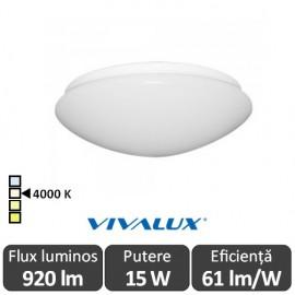 Plafonieră LED Vivalux Chiara LED 15W alb-neutru