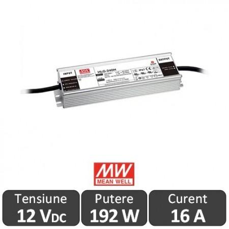 Poze Sursa alimentare LED 192W 12V 16A IP67