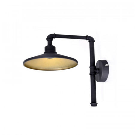 APLICA ACA LIGHTING AR4171W39BG METAL NEGRU AURIU E27