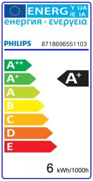 Bec LED Philips - LED spot classic LV MR16 5W GU5.3 12V 36D alb-cald