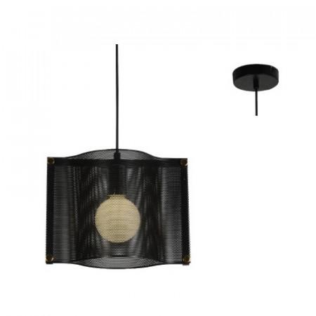 CORP ILUMINAT ACA LIGHTING`HM841P29BK METAL, NEGRU, E27