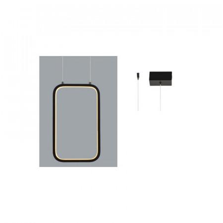 CORP ILUMINAT V30LEDP18BK METAL NEGRU LED INTEGRAT