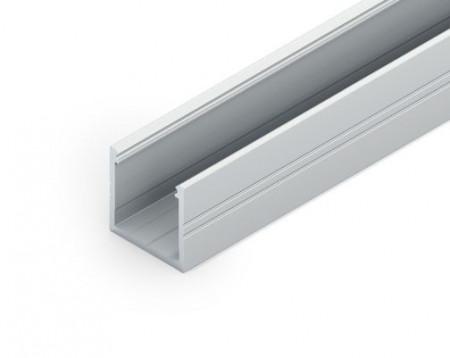 Profil LED aparent SMART16, aluminiu neanodizat