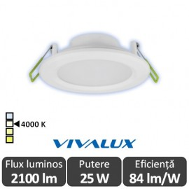 Vivalux TOP LED 25W alb-neutru