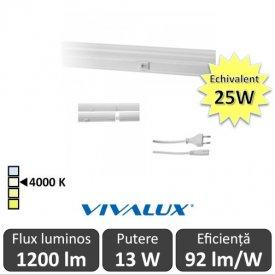 Vivalux Tub SPICA LED  13W T5 880mm 4000K alb-neutru