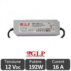Sursa alimentare GLP LED 192W 12V IP67