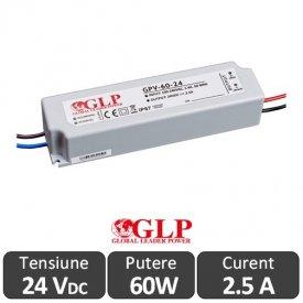Sursa alimentare GLP LED 60W 24V IP67