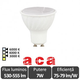 Bec Aca Lighting LED SPOT GU10 7W