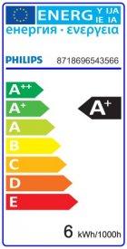 Bec LED Philips - CorePro LED candle frosted 5,5W E14 230V B35 alb-neutru