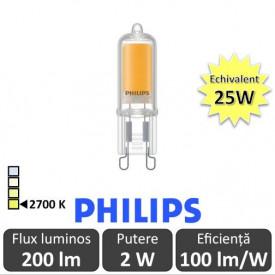 Bec LED Philips - Led CapsuleMV 2-25W G9 2700K