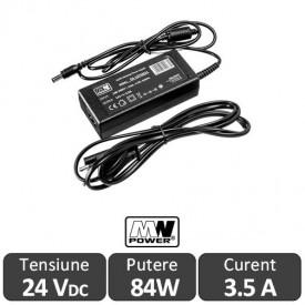 MW Power Sursa alimentare LED 84W 24V 3.5A