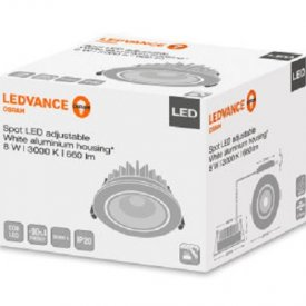 OSRAM Ledvance Spot Led Orientabil 8W Alb 3000K