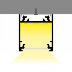 Profil LED aparent LINEA 20, alb, lungime 2m