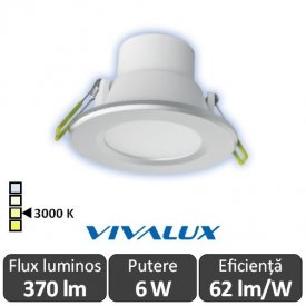 Vivalux TOP LED 6W alb-cald