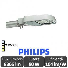 Philips - Corp iluminal stradal cu LED ClearWay BGP303 80W 4000K alb-neutru
