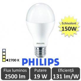 Bec LED Philips - CorePro LED bulb 19-150W E27 230V A67 alb-cald