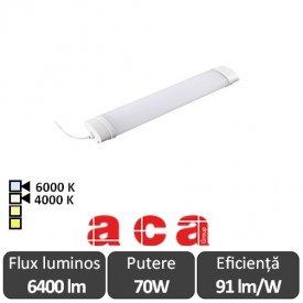Aca Lighting Corp Iluminat Industrial cu Led Rezistent la Apa TETE Alb-Neutru/Rece 70W