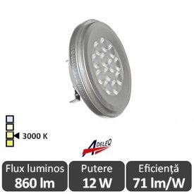 Bec LED  Lumen LEDspot  AR111 D 11-50W  3000K alb-cald